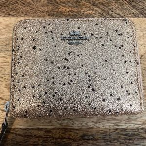 """NWT! Coach """"The Glitter Collection"""" wallet"""